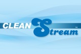 Clean Stream Logo Plain Blue 450 x 300