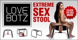LoveBotz Extreme Sex Stool Ad Banner 580 x 300