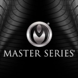 Master Series Black Stacked Logo Background 200 x 200
