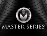 Masters Series Logo on Black Screen 390 x 300