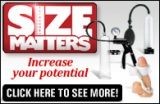 Size Matters Ad Banner White 195 x 127