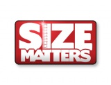 Size Matters Logo w red gradient background 390 x 300