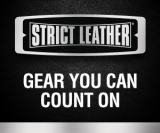 Strict Leather Web Banner w Tag Line 300 x 250