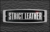Strict Leather Logo Black 195 x 127
