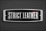 Strict Leather Logo Black 450 x 300