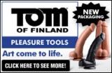 Tom of Finland Dildo Ad Banner 195 x 127
