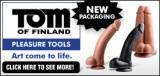 Tom of Finland Dildo Ad Banner 275 x 130