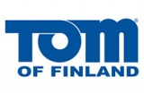 Tom of Finland Blue Logo 195 x 127