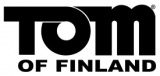 Tom of Finland Black Logo 275 x 130