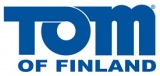 Tom of Finland Blue Logo 275 x 130