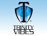 Trinity Men Logo on Blue Stacked 390 x 300