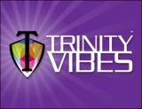 Trinity Vibes Horizontal Logo Purple Wide 390 x 300