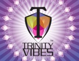 Trinity Vibes Logo on crystalized background 390 x 300
